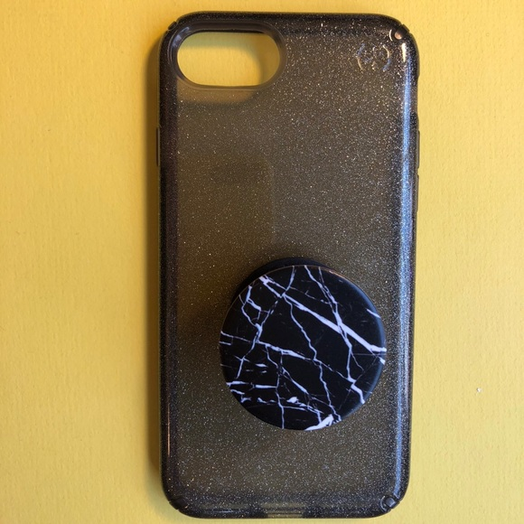 new arrivals 3df5a 2de93 || Speck Phone Case + Marble PopSocket